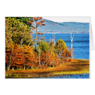 ~Eagles on Sardis Lake~ Card