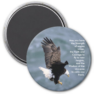 Eagles Strong 3 Inch Round Magnet