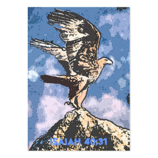 Eagles Wings - Isaiah 40 31 Tract Cards Business Card Template
