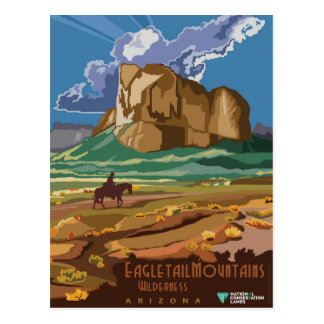 Eagletail Mountains Postcard