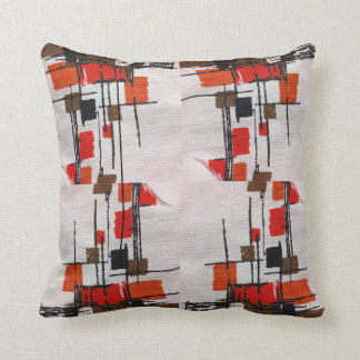 Eames Inspired Pillow Design Mid Century Atomic II