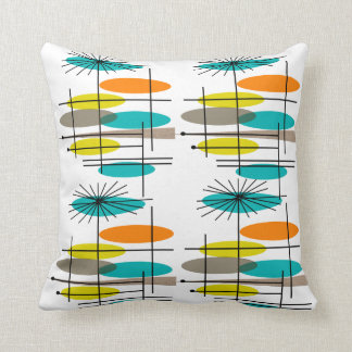 Eames Inspired Pillow Design Mid Century II