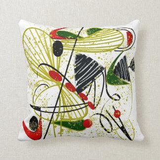 Eames Inspired Pillow Design Mid Century III