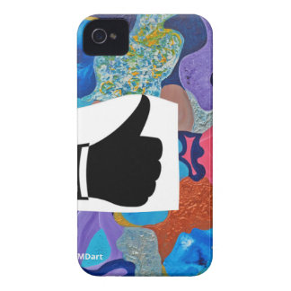 Ear Thumbs Up iPhone 4 Cover
