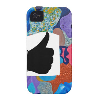 Ear Thumbs Up Vibe iPhone 4 Covers