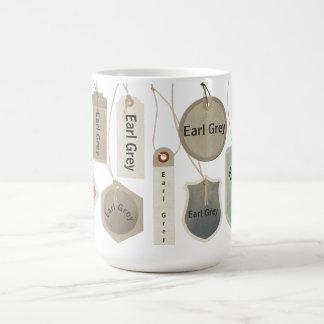 Earl Grey Tea or Any Text Monogram    Personalized Coffee Mug