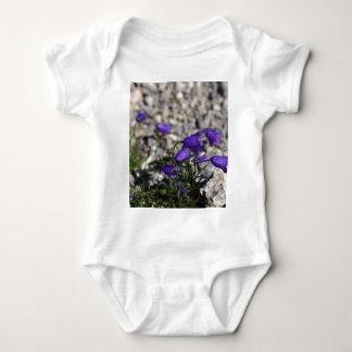 Earleaf bellflower (Campanula cochleariifolia) Baby Bodysuit