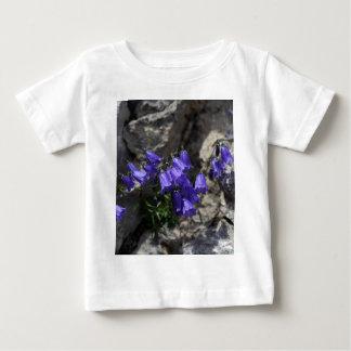 Earleaf bellflower (Campanula cochleariifolia) Baby T-Shirt