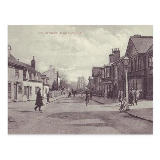 Earls Colne High Street Postcard Vintage Style