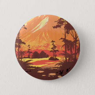 Early 20th century New Zealand Painting 2 Inch Round Button