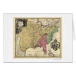 Early America Map 1763 Card