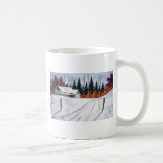 Early Autumn Landscape Mug