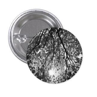 Early Autumn Monochrome Pinback Button