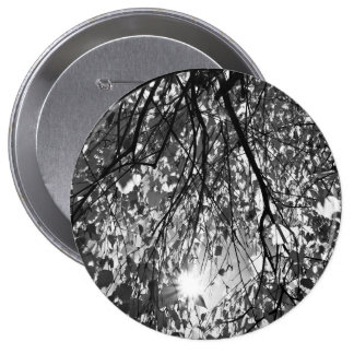 Early Autumn Monochrome Pinback Buttons