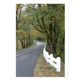 Early Autumn on the Historic Highway Postcard