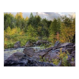 Early Autumn Postcard