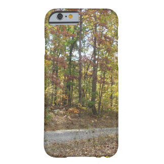 Early Autumn Wooded Lane Barely There iPhone 6 Case