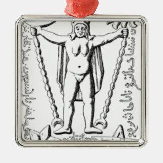 Early Baphomet Metal Ornament