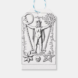 Early Baphomet Pack Of Gift Tags