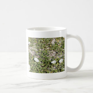 Early Beach Sand Morning Glories Coffee Mug