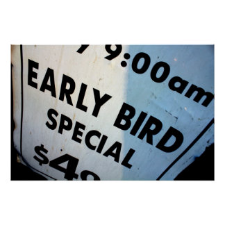 Early Bird Special Poster