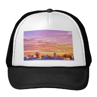 Early Country Colorado Morning Sunrise Trucker Hat
