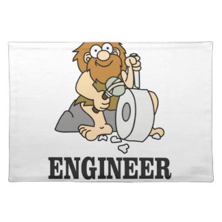 early engineer man placemat