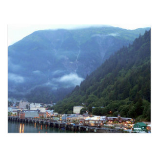 Early Evening in Juneau Postcard