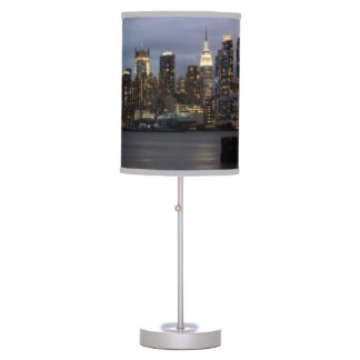 Early evening panoramic view of Manhattan Desk Lamp