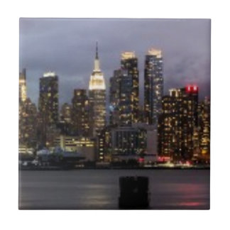 Early evening panoramic view of Manhattan Tiles