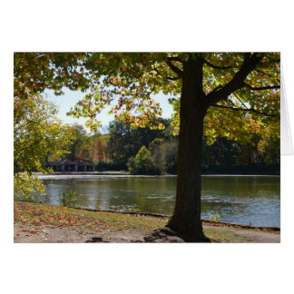 Early Fall at the Forest Preserve Greeting Card