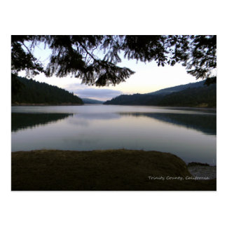 Early hours at Ruth Lake.... Postcard
