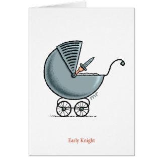 Early Knight Card