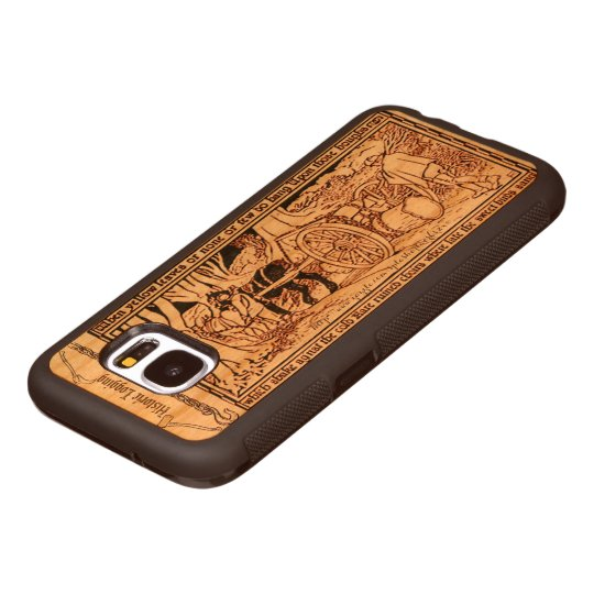 """Early Log Skidding"" Wood Samsung Galaxy S7 Case"