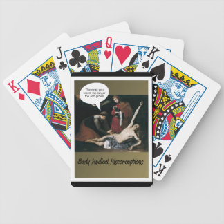 Early Medical Misconceptions -Funny Poker Deck