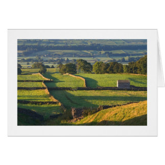 Early morning, Askrigg, The Yorkshire Dales Card