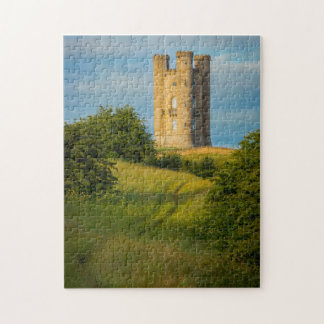 Early morning at Broadway Tower Jigsaw Puzzle