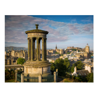 Early morning at Dugald Stewart Monument Postcard