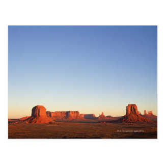 Early morning at Monument Valley Navajo Tribal Postcard