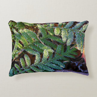Early Morning Autumn Frost 2015 Decorative Pillow