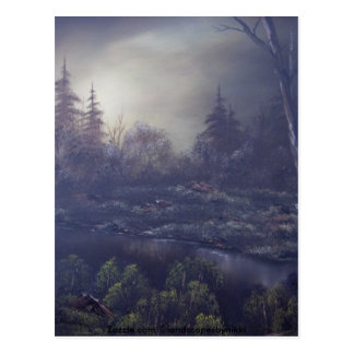 Early Morning Haze 1 Postcard