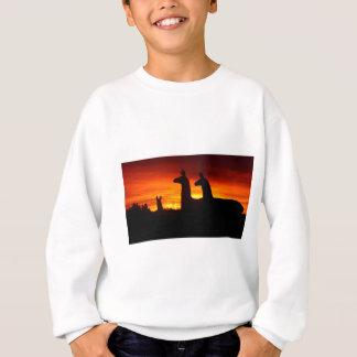 Early Morning Llamas Sweatshirt