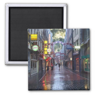 Early Morning Rain -- Amsterdam in November Magnet