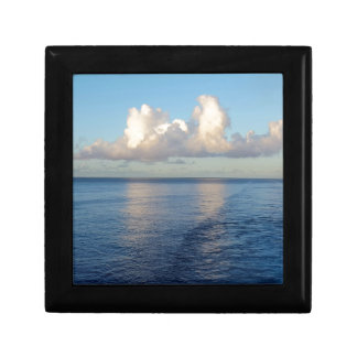 Early morning Seascape Cloud reflections Gift Box