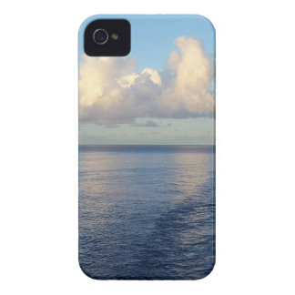 Early morning Seascape Cloud reflections iPhone 4 Case