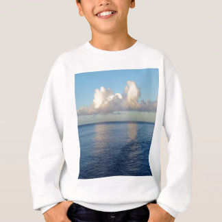 Early morning Seascape Cloud reflections Sweatshirt