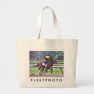 Early Morning Workouts at Saratoga Tote Bags