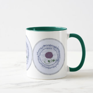 Early Music Manuscript Flower Mug