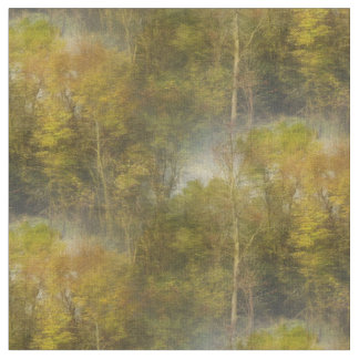 Early October Trees Landscape Fabric