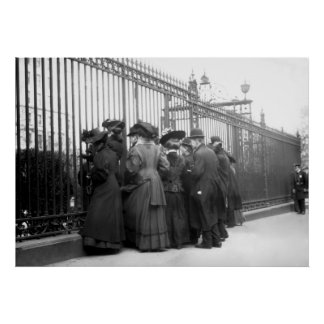 Early Paparazzi: 1908 Poster